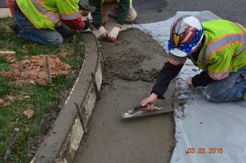concrete repair woodbridge va